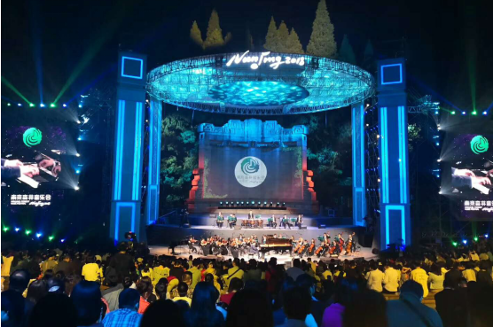 """南京森林音乐会圆满落幕""""爱乐之城""""的形象深入人心"""