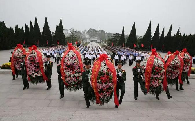 淮北濉溪的红色记忆:走进淮海战役双堆集烈士陵园纪念馆