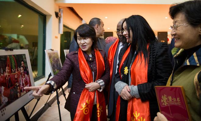 《中国印象・速度》主题摄影展在开罗举办