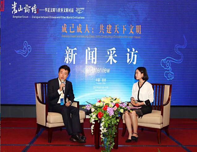 河南执美文化董事长蔡�|专访:助力海外华媒,服务河南对外国际文化交流