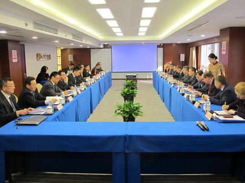中俄边界联合委员会第二十三次会议在北京举行