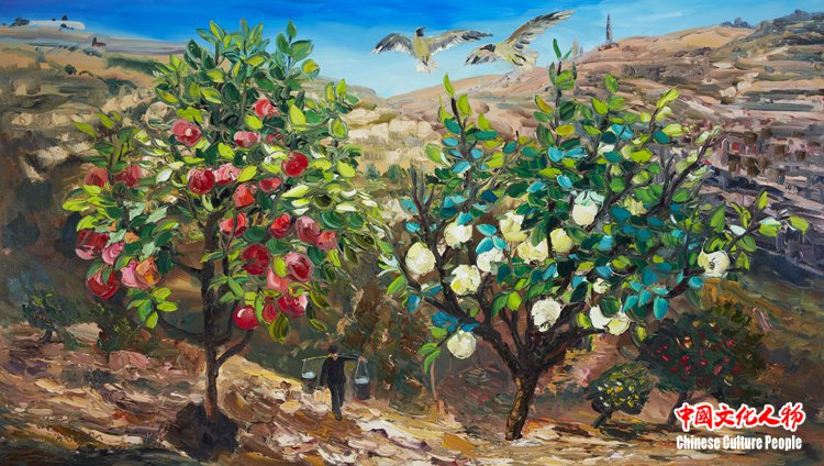 周昌新应邀为俄罗斯吉洪都主教著作《未封圣的圣徒》创作20幅作品