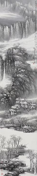 在路上――郭杭建书画篆刻作品展在中央党校成功举办