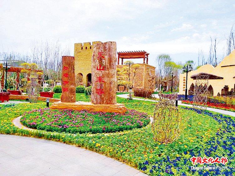 绿色巴州新境界_原汁原味原生态_新疆巴州阿瓦提农场相约北京世园会彰显生态文明魅力