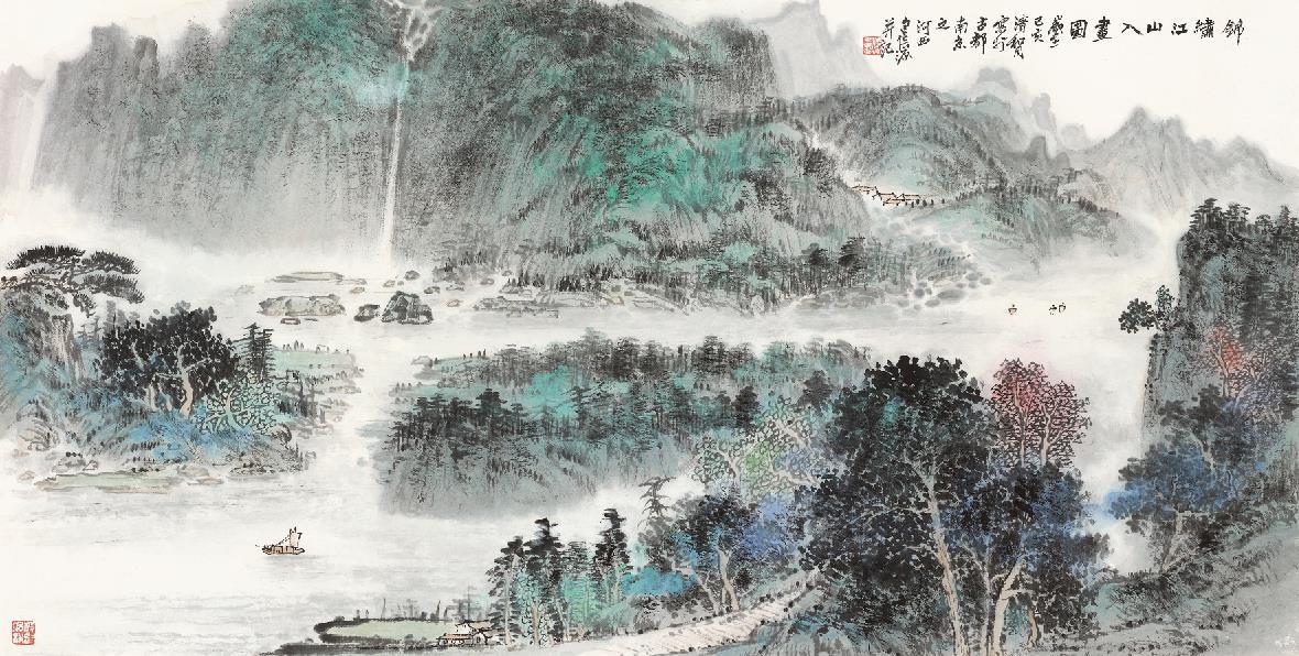 中国画名家包信源作品赏析