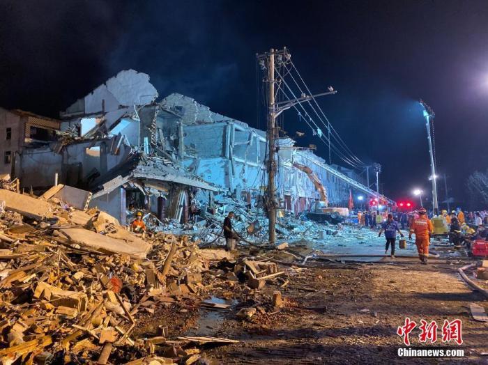 浙江温岭槽罐车爆炸事故已造成19人遇难
